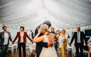 svatební stan, slídové boky, LED osvěltení, baldachýny