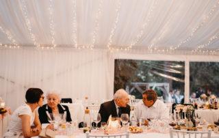 svatební stan, slídové boky, LED osvětlení, baldachýny